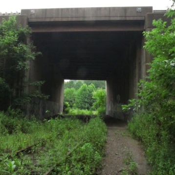 2013: The turnpike tunnel that takes the trail under the turnpike.