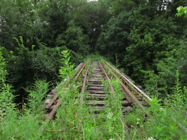 2013: The old bridge at Trafford Road in Murrysville.