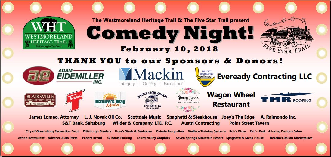 Trails Comedy Night banner 18